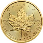 1 oz Gold Maple Leaf (Random Date)-228