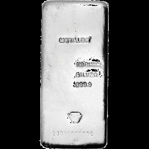 Silver Bar 100 oz