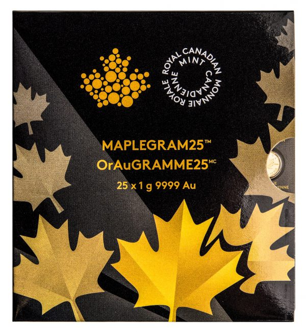Gold Maplegram (25 Gram Pack)-0