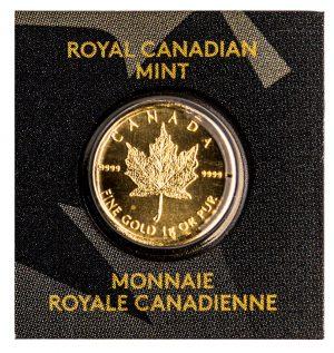 Gold Maplegram (1 Gram Piece)-0