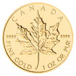 1 oz Gold Maple Leaf (Random Date)-0