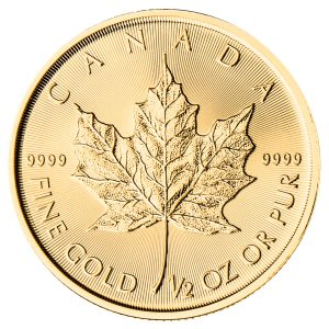 1/2 oz Gold Maple Leaf-0