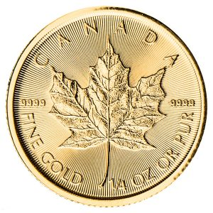 1/4 oz Gold Maple Leaf-0