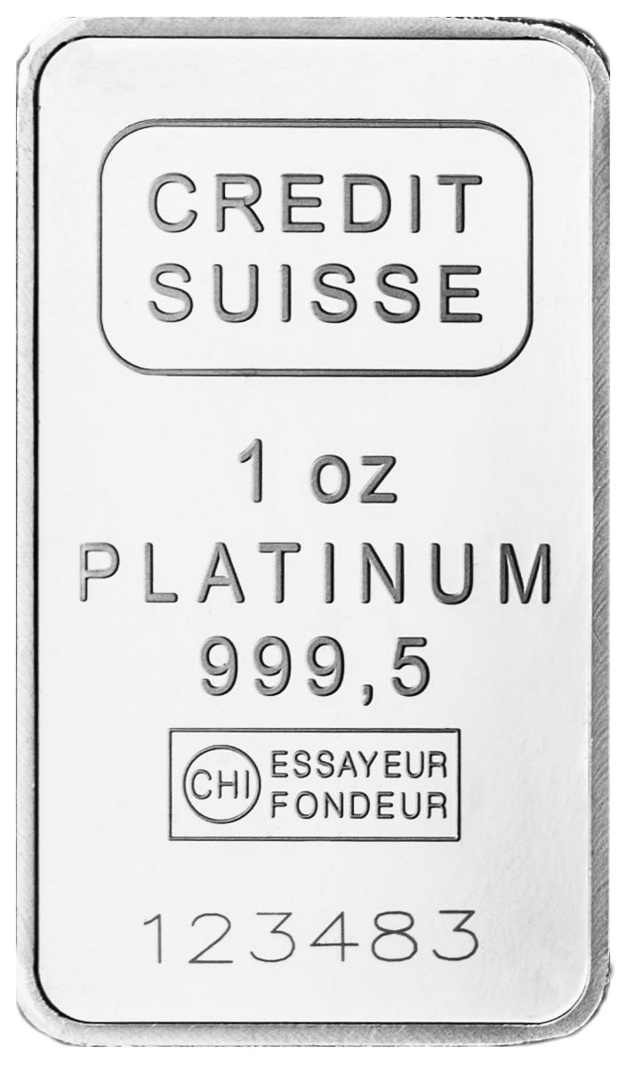 1 oz Platinum Bar-0