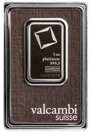 1 oz Platinum Bar-326