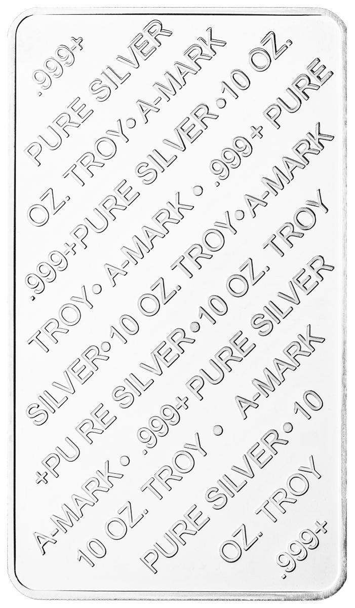 10 oz Silver Bar-276
