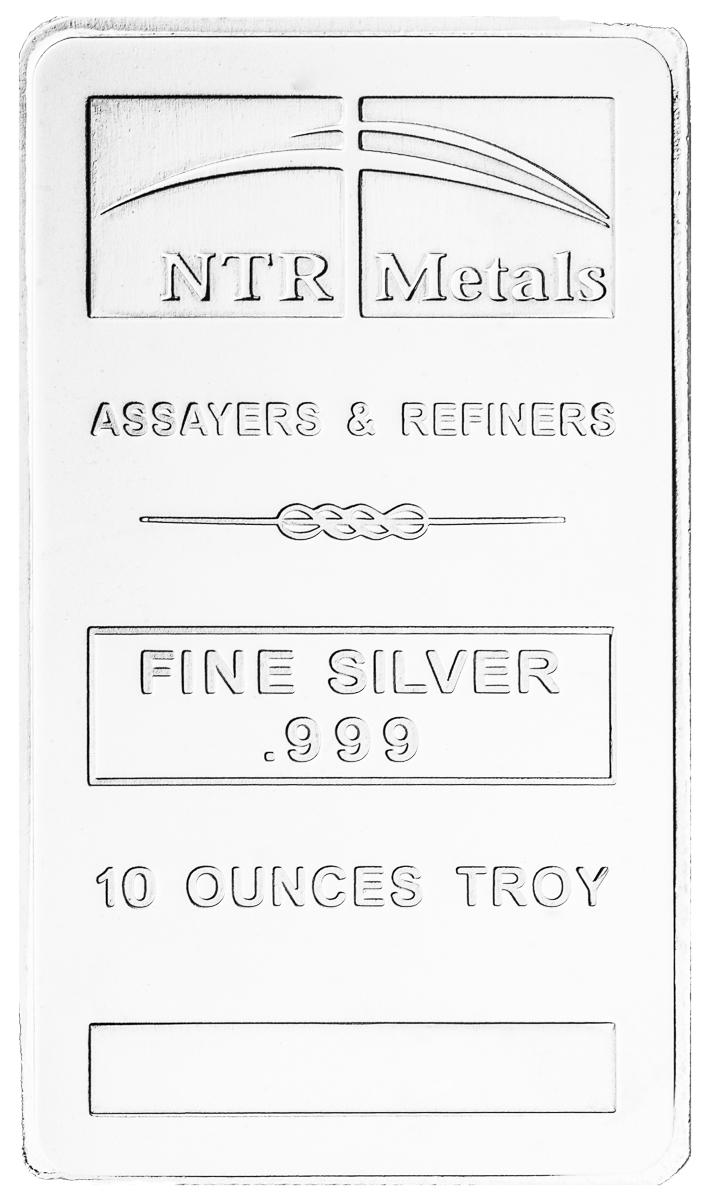 10 oz Silver Bar-273