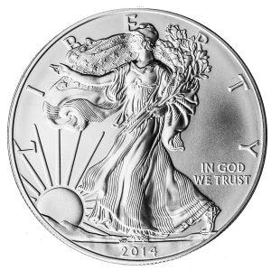 1 oz. Silver Eagle-0