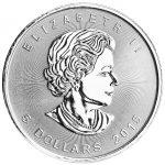 1 oz Silver Maple Leaf (Random Date) -263
