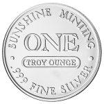 1 oz Silver Round-291