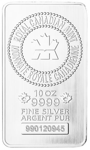 10 oz RCM Silver Bar