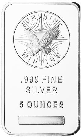 5 oz Silver Bar-0