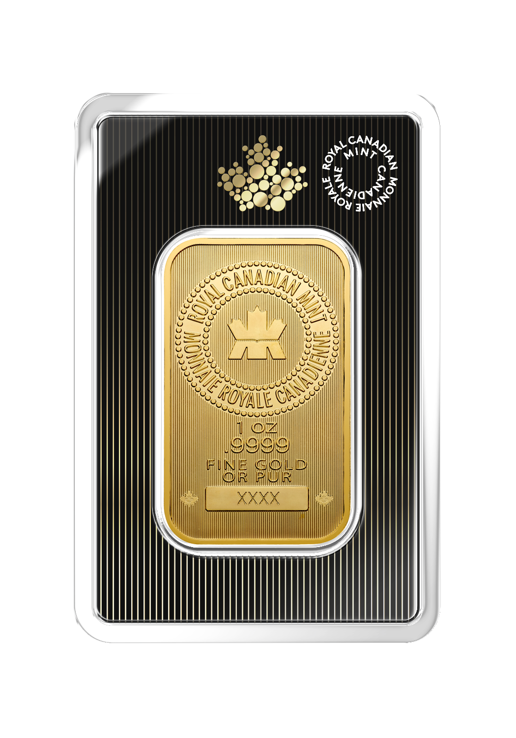 1 oz RCM Gold Bar-345