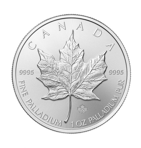 1 oz Palladium Maple Leaf-0