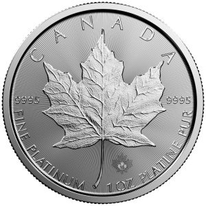 1 oz Platinum Maple Leaf-0