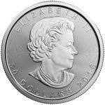 1 oz Platinum Maple Leaf-325