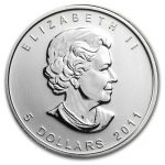 2011 Canadian Silver Wolf 1oz Coin-412