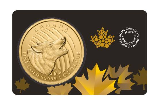 1 oz Gold Wolf 2014 Release (GML) -398
