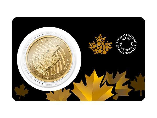 1 oz Gold Grizzly (GML)-298