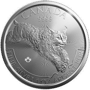 1 oz Silver Lynx (SML) Predator Series-0