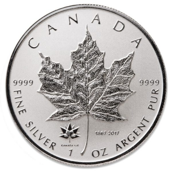 Canada 150 Silver Maple Leaf Privy Coin -0