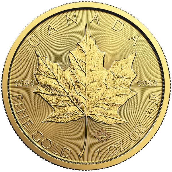 Gold Maple Leaf by the Royal Canadian Mint