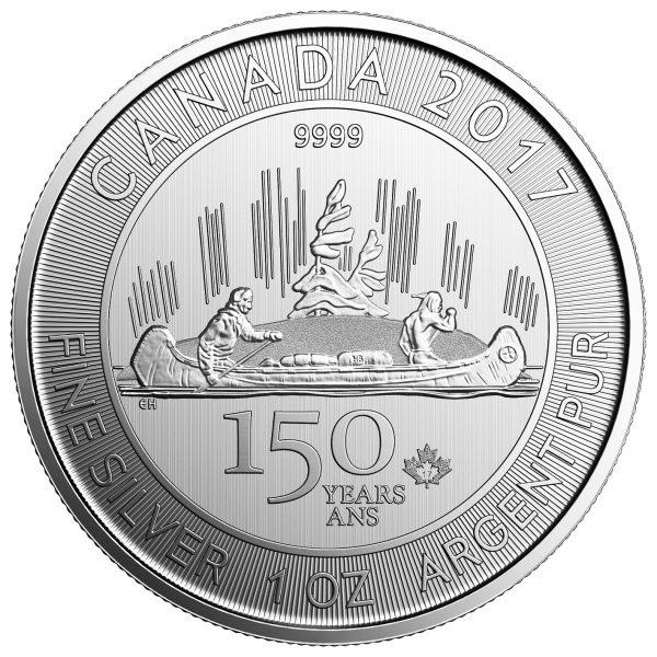 2017 Canada 150 Silver Voyageur-0