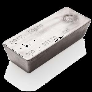 Silver Bar 1000 oz RCM