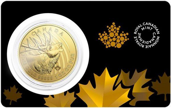 2017 Royal Canadian Mint Gold Elk
