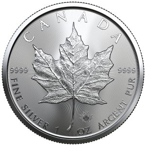 Silver Maple Leaf Coin 1 oz 2020