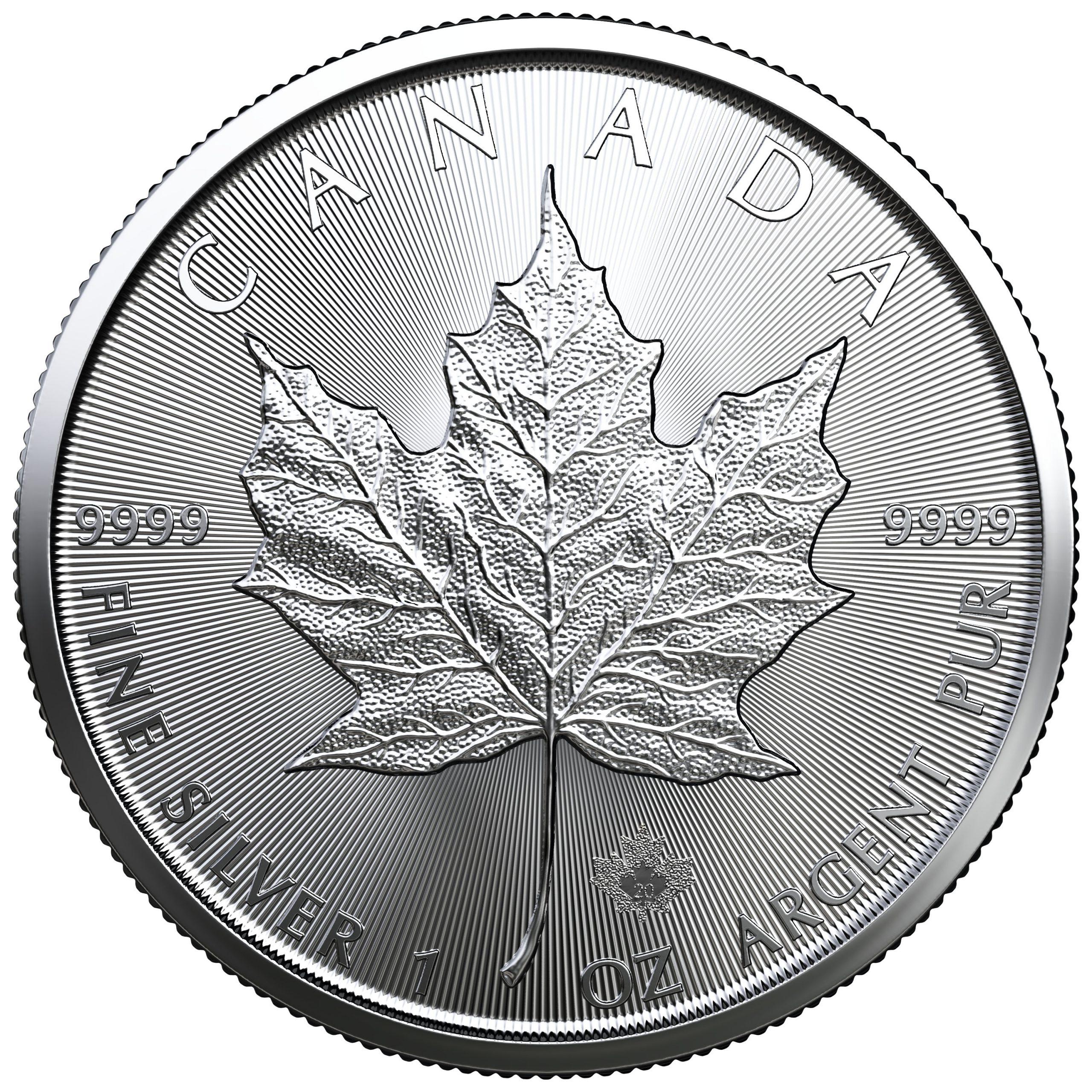 Silver Maple Leaf 1 Oz 2020 6 Week