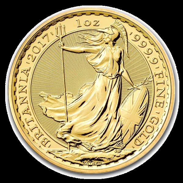 1 oz Gold Coin English Britannia