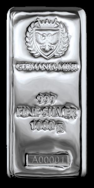 Silver bar 1 kg