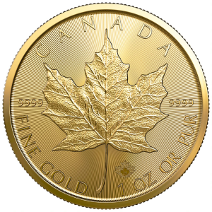 1 oz Gold Maple Leaf Coin 2021