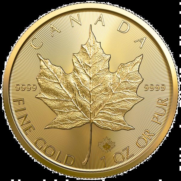 1 oz Gold Maple Leaf Coin 2021