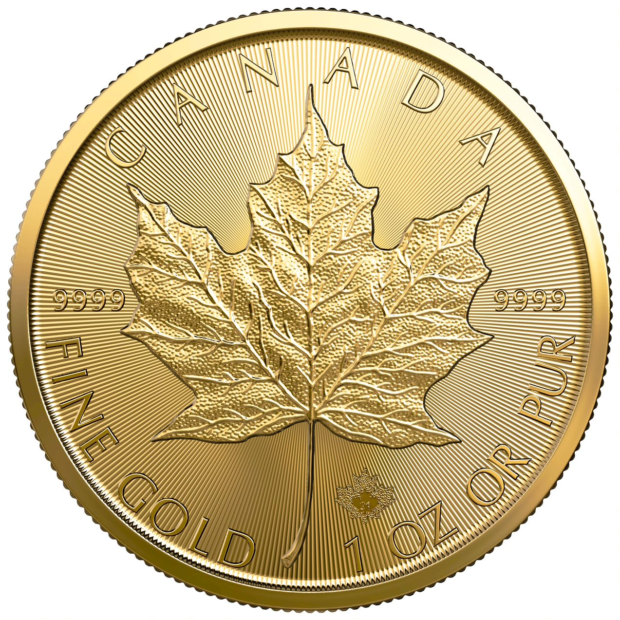 2021 1 oz. Gold Maple Leaf