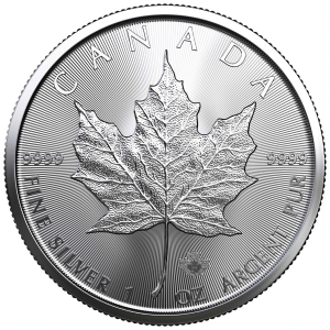 1 oz Silver Maple Leaf Coin 2021