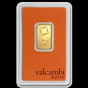 Gold Bar 10g Valcambi