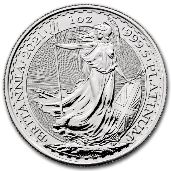 1 oz Platinum Britannia