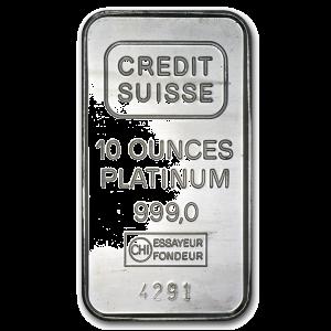 Platinum Bar 10 oz