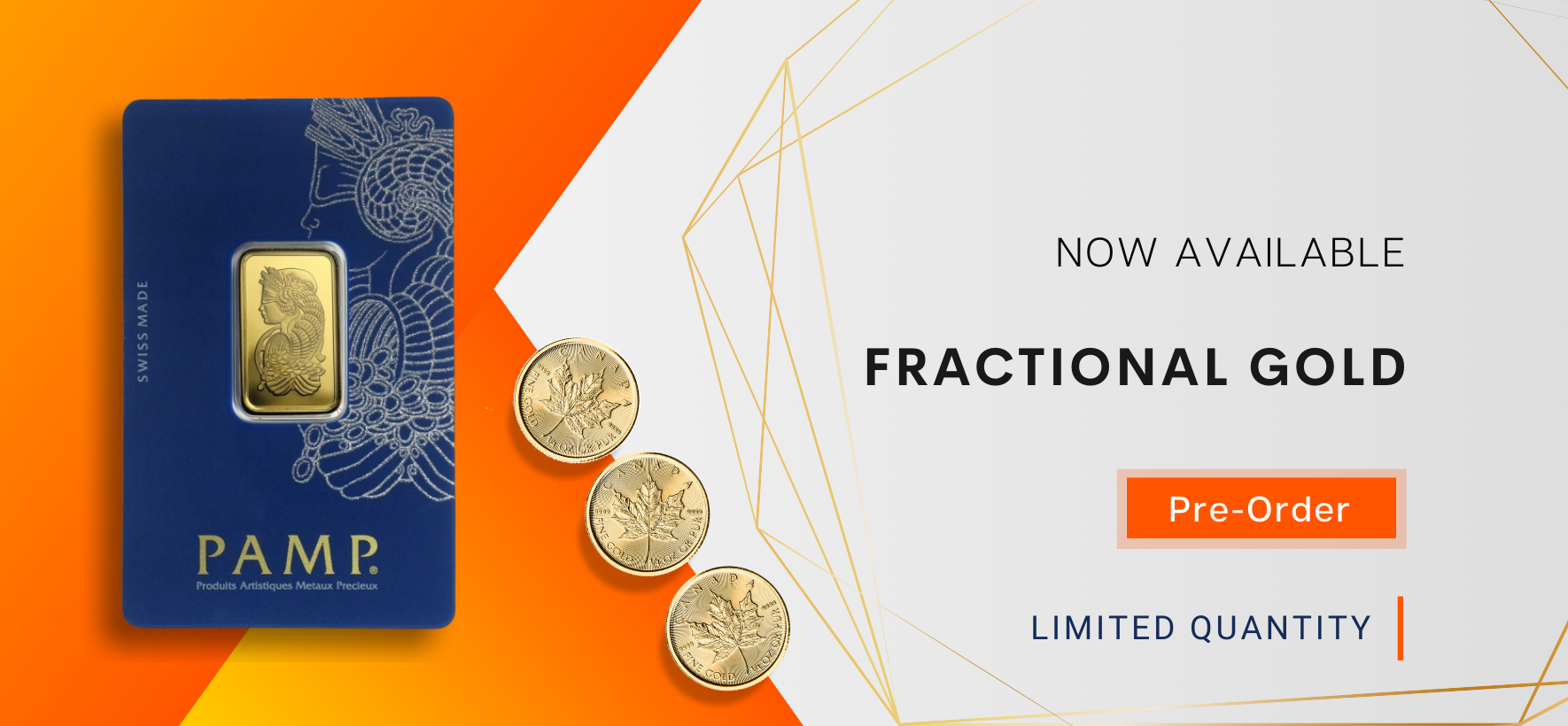 Fractional Gold Bullion
