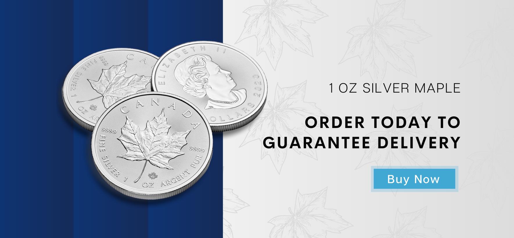 Silver Maple Leaf Coin 1 oz