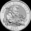 2021 1 oz Royal Mint Valiant Silver