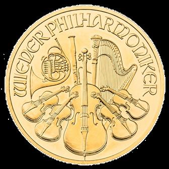 1/4 oz Gold Philharmonic