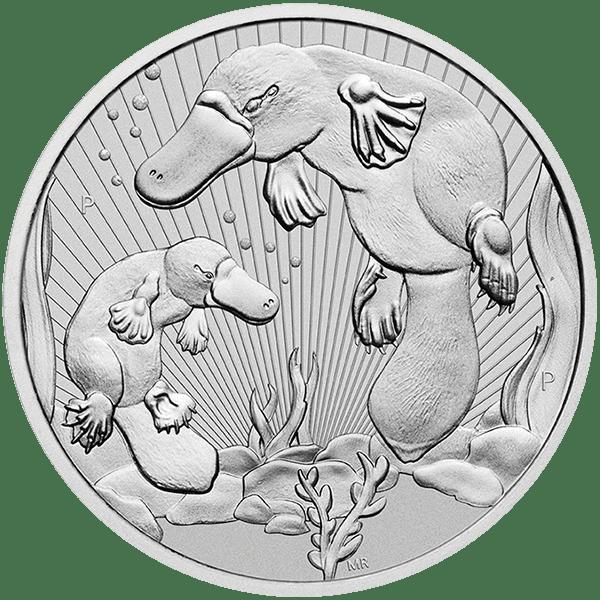 2 oz Silver Platypus