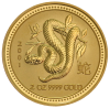 10 oz Gold Coin Year of the Snake 2001