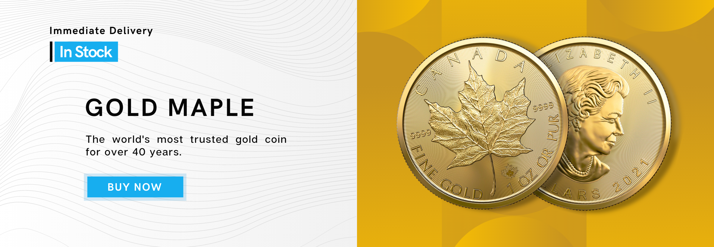 Gold Maple Leaf 1 oz Gold Coin 2021