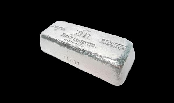 50 oz Silver Bar