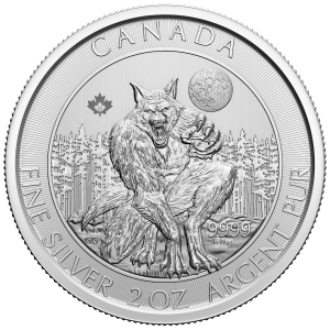 2020 The Werewolf Creatures of the North 2 oz Silver Coin
