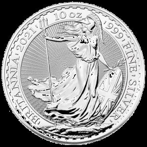 10 oz Silver Britannia Coin